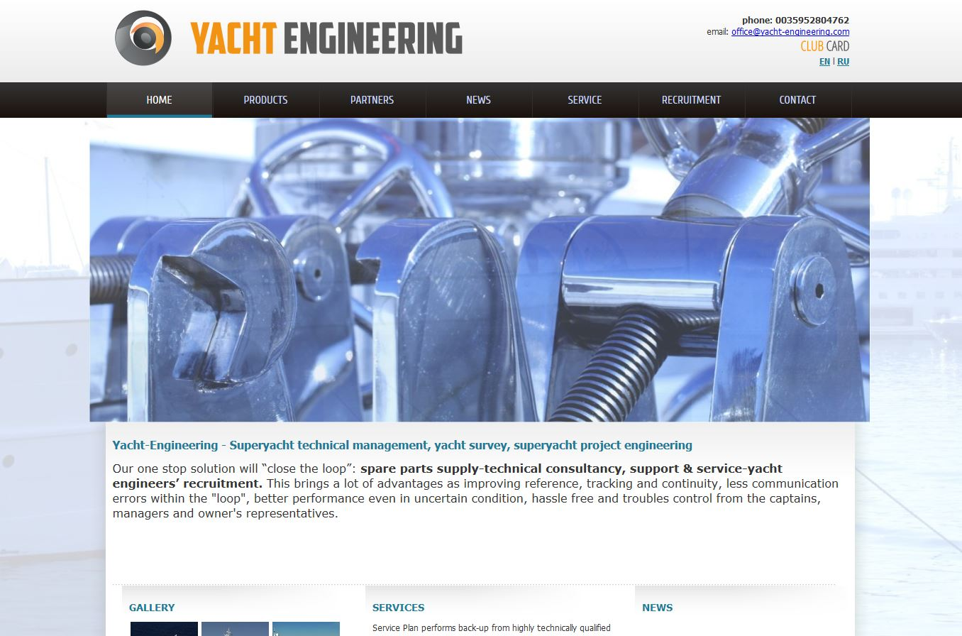 Yacht Engineering
