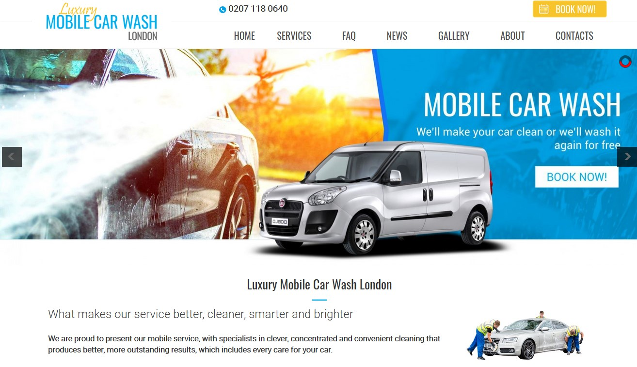 Luxury Mobile Car Wash London